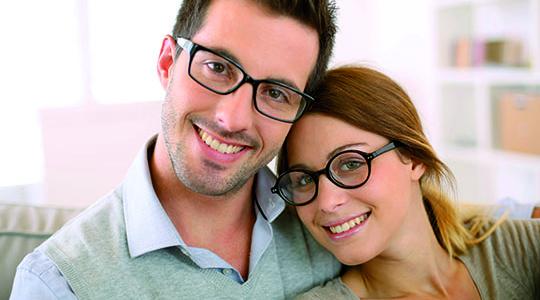 30% auf Zweitbrillengläsern